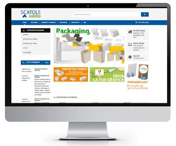 Sito Packaging personalizzato